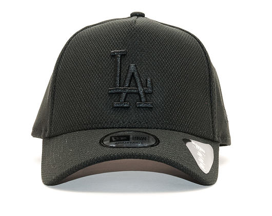 Kšiltovka New Era Diamond Era A Frame Los Angeles Dodgers 9FORTY Black/Black Snapback