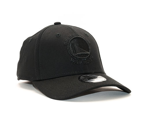 Kšiltovka New Era Black On Black Golden State Warriors 39THIRTY Black