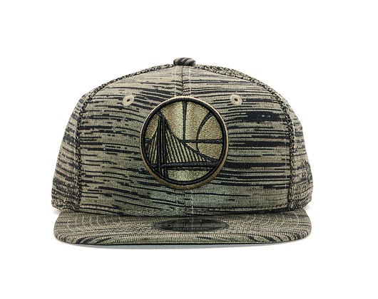 Kšiltovka New Era 9FIFTY Golden State Warriors Original Fit Engineered New Olive/Black Snapback