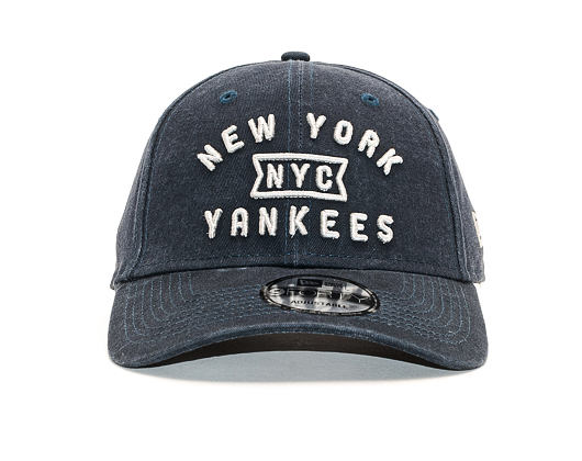 Kšiltovka New Era 9FORTY Vintage Team Front New York Yankees Team Color Strapback