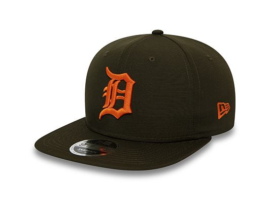 Kšiltovka New Era 9FIFTY Detroit Tigers Original Fit Utility New Olive/Orange