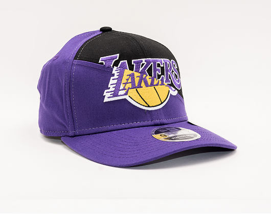 Kšiltovka New Era 9FIFTY Stretch Snap Los Angeles Lakers Team Split
