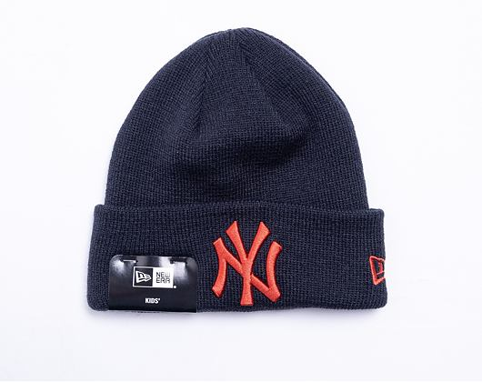 Kulich New Era MLB League Essential Cuff Knit New York Yankees Navy