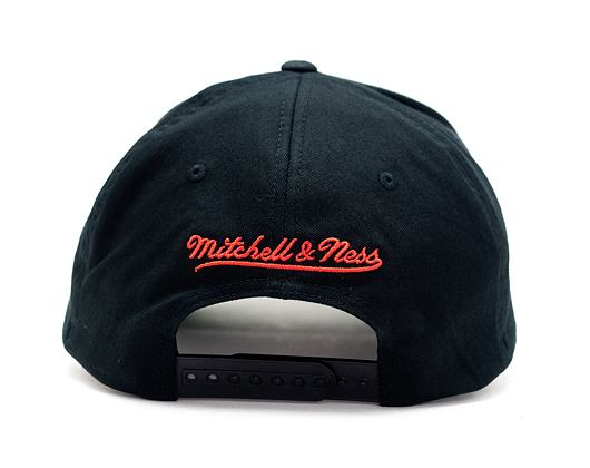 Kšiltovka Mitchell & Ness Los Angeles Clippers 537 Team Logo High Crown Black