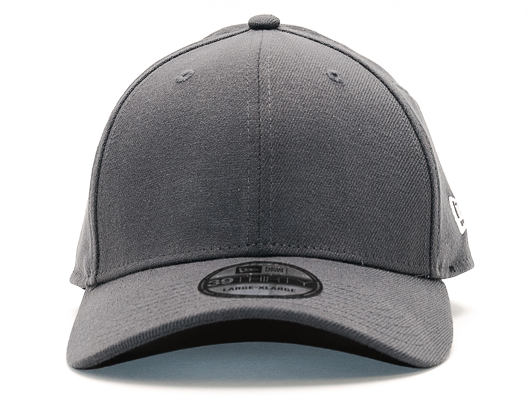 Kšiltovka New Era Basic Flag 39thirty Graphite Stretchfit