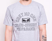 Triko OBEY No One Eyes Tee Heather Grey 165361907-HEA