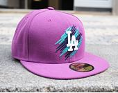 Kšiltovka New Era 59FIFTY Double Scribb Los Angeles Dodgers