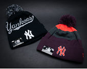 Kulich New Era Bobble Script New York Yankees Navy/Grey