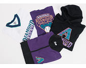 Bunda New Era Coast 2 Coast Track Jacket Arizona Diamondbacks Black/Purple