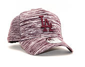 Kšiltovka New Era 9FORTY A-Frame Los Angeles Dodgers Engineered Fit Maroon/White Snapback