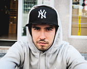 Kšiltovka New Era 9FIFTY MLB New York Yankees Snapback Black / Optic White