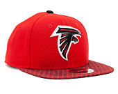 Kšiltovka New Era On Field NFL17 Atlanta Falcons 9FIFTY Official Team Color Snapback