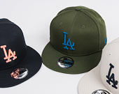 Kšiltovka New Era   League Essential Los Angeles Dodgers 9FIFTY Snapback Stone / Navy
