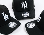 Kšiltovka New Era 9FIFTY New York Yankees Stretch Snapback Black/Official Team Colors