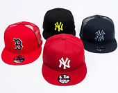 Kšiltovka New Era 9FIFTY New York Yankees Essential Black/Yellow Snapback