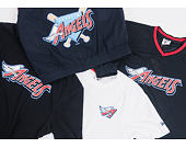 Mikina S Kapucí New Era Coast 2 Coast Po Hoody Anaheim Angels Navy Heather