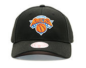 Kšiltovka Mitchell & Ness Team Logo Low Pro New York Knicks Black Snapback