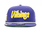Kšiltovka New Era 9FIFTY NFL Minnesota Vikings ONF19 Sideline 1960 OTC