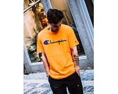 Triko Champion Crewneck T-Shirt Yellow 210972 OS030 ZNN