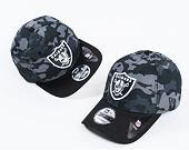 Kšiltovka New Era Mesh Overlay Oakland Raiders 9FORTY Camo/Black Strapback