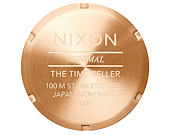 Hodinky Nixon Time Teller All Rose Gold A045897