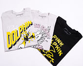 Triko Pink Dolphin Glass Shatter Tee Grey PS11911GSGY