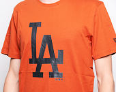 Triko New Era Seasonal Team Logo Los Angeles Dodgers Rust