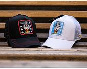 Kšiltovka Capslab Wonder Woman 1 Trucker White
