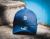 Kšiltovka New Era Linen Small Logo Detroit Tigers 9FORTY Navy Strapback