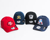 Kšiltovka New Era Patch New England Patriots 9FORTY Official Team Colors Strapback