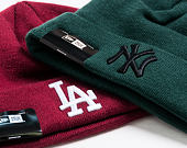 Kulich New Era League Essential Cuff New York Yankees Dark Green/Black