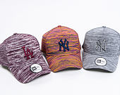 Kšiltovka New Era 9FORTY A-Frame New York Yankees Engineered Fit Navy/Pink/Purple Snapback