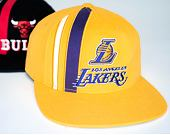 Kšiltovka Mitchell & Ness INTL847 Los Angeles Lakers Time Stripe Deadstock