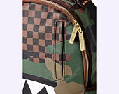Batoh Sprayground Checkered Camo Shark Backpack B2201
