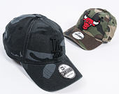 Kšiltovka New Era Washed Camo Los Angeles Dodgers 9FORTY Marine Navy Camo Strapback