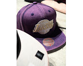 Kšiltovka Mitchell & Ness Los Angeles Lakers JS18253 Snow Washed Natural