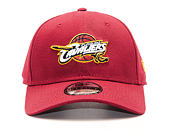 Kšiltovka New Era Team Cleveland Cavaliers Red 9FORTY Strapback