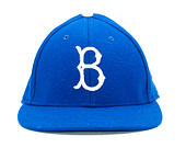 Kšiltovka New Era Relocation Brooklyn Dodgers 59FIFTY Low Profile Light Royal/White/Dark Green