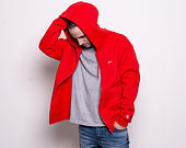 Mikina Tommy Jeans Tommy Classics Zipthrough XA8 Flame Scarlet